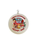 Personalized Paw Patrol Christmas Ornament Custom Gift #3 - $16.95