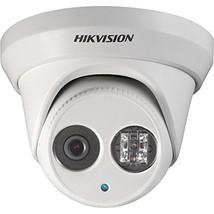 HIKVISION HD Smart 4 Megapixel PoE Turret IP Outdoor Surveillance Camera... - $128.42