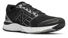 New Balance Mens M680 V5 Running Shoes Black - $81.31