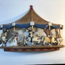 1979 Homco Universal Statuary Circus Animals Carousel Wall Hanging Nursery - $26.92