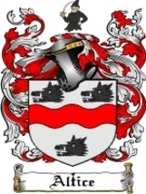 Altice Family Crest / Coat of Arms JPG or PDF Image Download - $6.99