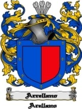 Arrellano Family Crest / Coat of Arms JPG or PDF Image Download - $6.99
