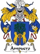 Ampuero Family Crest / Coat of Arms JPG or PDF Image Download - $6.99