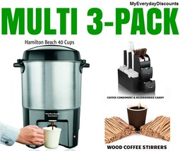 Coffee Maker Stainless Steel Dispenser 40 Cups ... - $94.95