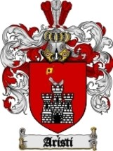 Aristi Family Crest / Coat of Arms JPG or PDF Image Download - $6.99
