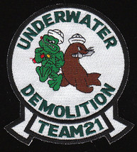 US Navy UDT-21 Underwater Demolition Team Military Patch - $9.99