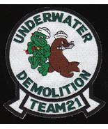 US Navy UDT-21 Underwater Demolition Team Military Patch - $9.99