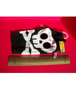 SimplyDog Pet Clothes Small Halloween Holiday Dog Black Skull Sweater Ou... - $7.59