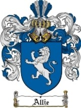 Allie Family Crest / Coat of Arms JPG or PDF Image Download - $6.99