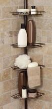 Accessory Rack Holder Shower Caddy Corner Shelf... - $33.63