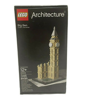 """LEGO Architecture 21013 Big Ben Retired Set New In Sealed Box """"FREE SHIP... - $114.99"""