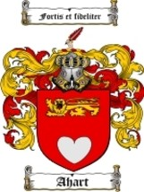 Ahart Family Crest / Coat of Arms JPG or PDF Image Download - $6.99