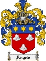 Angelo Family Crest / Coat of Arms JPG or PDF Image Download - $6.99