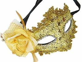 Alien Storehouse Elegant Masquerade Mask Party Mask Venetian Eye Mask wi... - $13.86