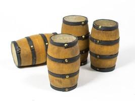 Wood Wine Barrel Miniature, Wine Cask Miniature, Wine Lover Gift, set of 1 - $7.50