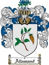 Allamand Family Crest / Coat of Arms JPG or PDF Image Download - $6.99