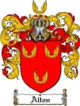 Alton Family Crest / Coat of Arms JPG or PDF Image Download - $6.99