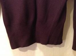 Ann Taylor Womens Plum Purple Pullover Sweater, Size Medium image 4