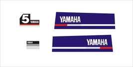 YAMAHA 5  - Outboard decal set, reproduction - $27.00