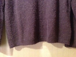 Croft & Borrow Womens Purple Pullover Sweater, Size Petite Large image 4