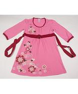 JUSTICE GIRLS 10 DRESS TUNIC TOP PINK FLOWERS & HEARTS FLOWERS RHINESTONES - $14.30