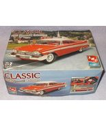 Classic AMT Ertl 1958 Plymouth Belvedere Plastic Model Kit  - $9.95