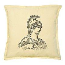 Vietsbay's Fragment of Ancient Statue Prints Khaki Decorative Pillows Co... - €13,99 EUR