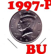 1997-P       KENNEDY HALF DOLLAR===BRILLIANT UNCIRCULATED---FREE SHIPPING - $2.66
