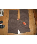 NO BOUNDRIES Size 11 Junior Dark Brown Stretch Nobo Pocket Cargo PANTS N... - $14.99