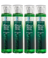 4 Pack Bath & Body Works Vanilla Bean Noel 2020 Fine Fragrance Mist Spra... - $39.55