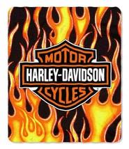 Harley-Davidson Fresh Logo Royal Plush Throw, 60 x 80 - $49.50
