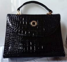 Vintage Italbag Handbag by Firenze, Faux Crocodile Skin - $39.83