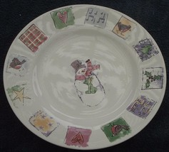 """Gibson Holiday Pattern China 10.5"""" Dinner Plate - Vgc - Great Festive Pattern - $24.74"""