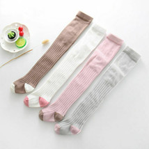 2018 Casual Kids Baby Girls Knee High with Bows Stockings Cute Warm Wint... - $8.99