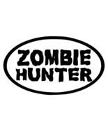 ZOMBIE HUNTER LOGO Walking Dead Vinyl Decal hi quality CHOOSE SIZE COLOR - $2.60+