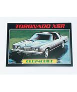 1976 Topps Autos of 1977 #53 Oldsmobile Toronado XSR Car Card VG-EX Cond... - $13.84