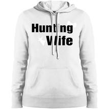 Hunting Wife HoodieBlend Fleece Hooded Sweatshirt ForMens - $41.58