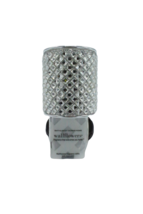 Bath & Body Works Rhinestone Wedge Wallflower Diffuser Plug Silver Modern - $14.89