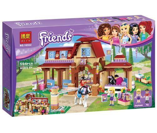 Friends Heartlake Riding Club Building Blocks (Lego Compatible)