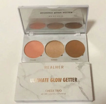 RealHer Ultimate Glow Getter Cheek Trio New Sealed Blessed/Goddess/Incre... - $16.83