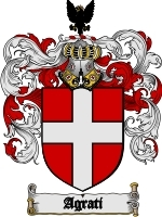Primary image for Agrati Family Crest / Coat of Arms JPG or PDF Image Download
