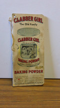 1940's Clabber Girl notepad book - $19.80