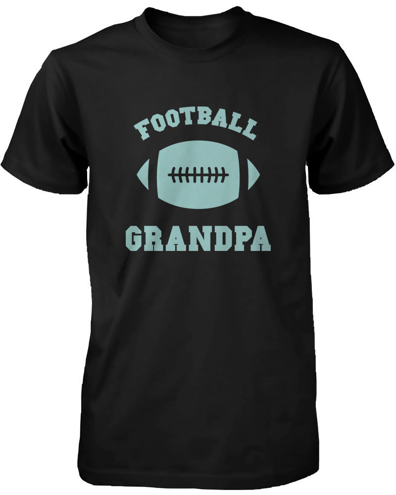 Football Grandpa Graphic Shirts Cute Christmas Gifts Ideas for Grandfather - $14.99 - $16.99
