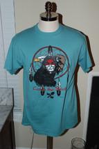 Vintage 90s Indian Chief Dream Catcher Shirt SZ Large Catch The Spirit D... - $21.31 CAD