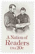 1984 20c Nation of Readers Scott 2106 Mint F/VF NH - $0.99