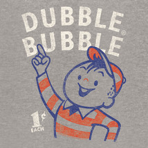 Dubble Bubble T-shirt retro 80's candy cotton distressed logo graphic tee dbl105 image 2