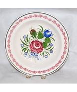 Antique Creamware Sarreguemines Spongeware Plate French - $275.00