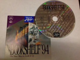 MICROSOFT BOOKSHELF 94 SOFTWARE CD WITH KEY 57418 - $7.00