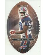 2003 Upper Deck Standing O Die Cuts #75 Eric Moulds  - $0.99