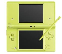 Nintendo DSi Lime JP game Green - $153.59